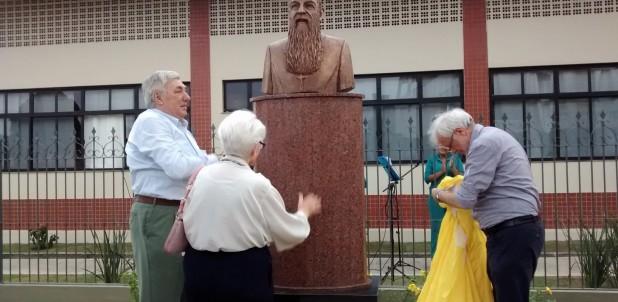 A Marituba inaugurato il busto di padre Aristide